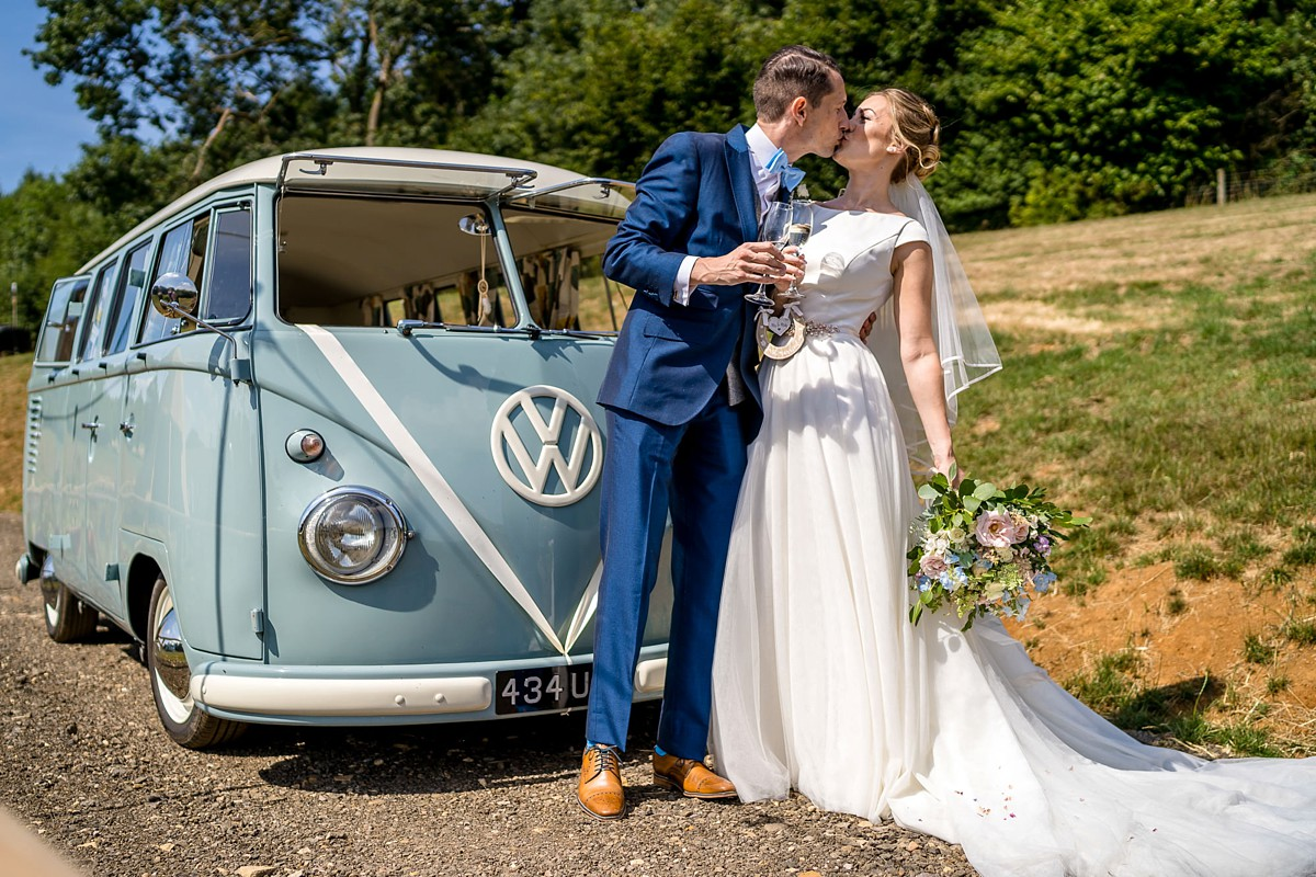 An Elegant Essense of Australia dress for a Charming Cotswolds Tipi Wedding