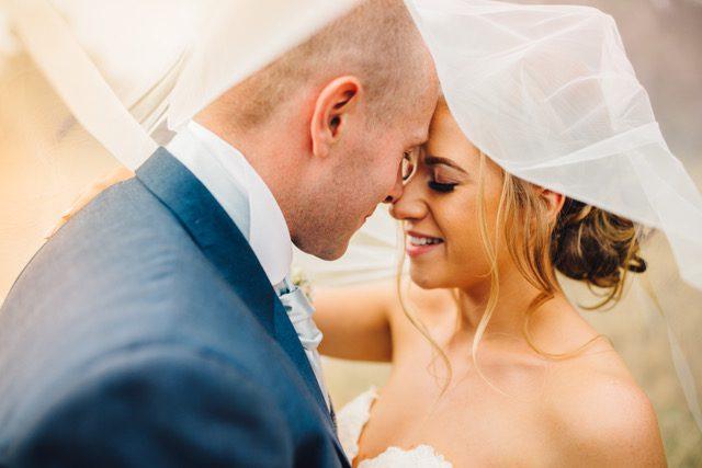 Charlotte got married in Martina Liana